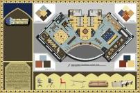 Abu Dhabi Global Bank-Floor Plan, Furniture & Materials Design