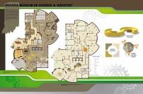 Indiana Museum of Science & Industry-Floor Plan, Lighting Plan Design