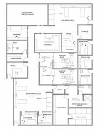 Indianapolis Animal Care & Control-Floor Plan Design