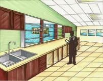 Indianapolis Animal Care & Control-Surgery Room:Prep Area Design