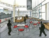 IUPUI Campus Center-Upper Level Design
