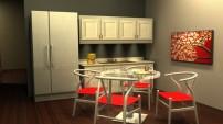 Kitchen:Break Room Design For An Office
