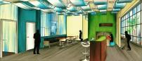 Martin Center-Break Area Design
