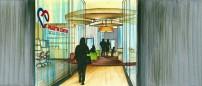 Martin Center-Entrance Design