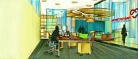 Martin Center-Open Work Station Area Design