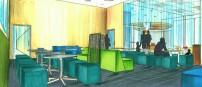 Martin Center-Social Area Design